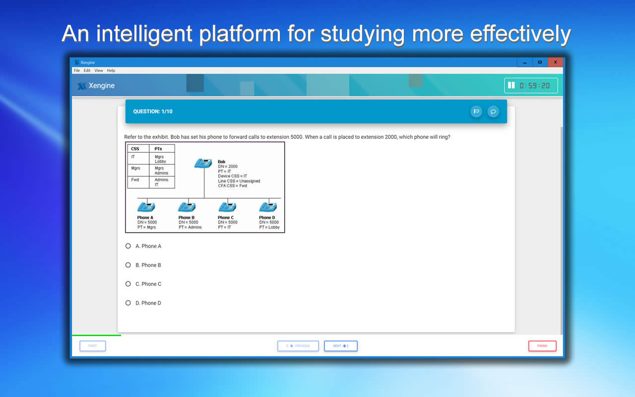 A00-908 FREE Exam Simulator as seen in real exam scenarios